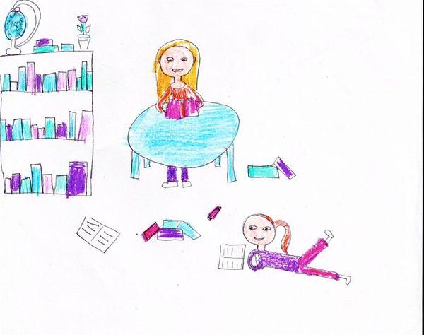 Kidsday illustration / Kamal Oberoi
