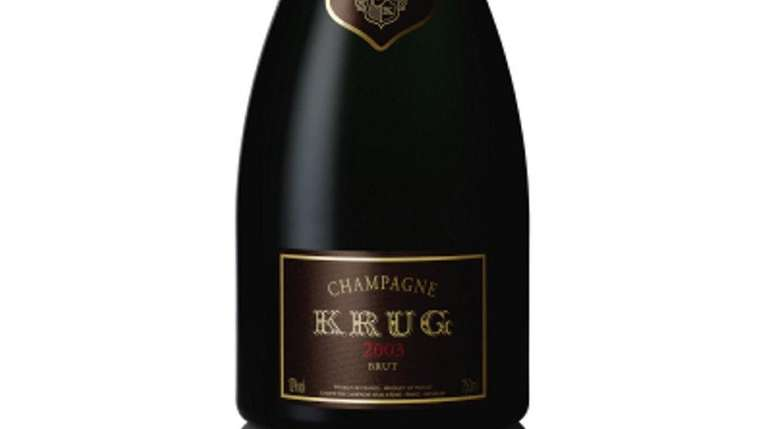 2003 Krug Brut Champagne and more drinks to