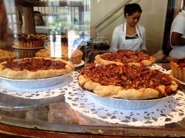Pecan pie at Diane's Bakery Cafe in Roslyn.