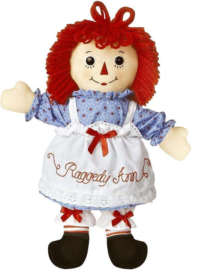A doll and a literary character, Raggedy Ann