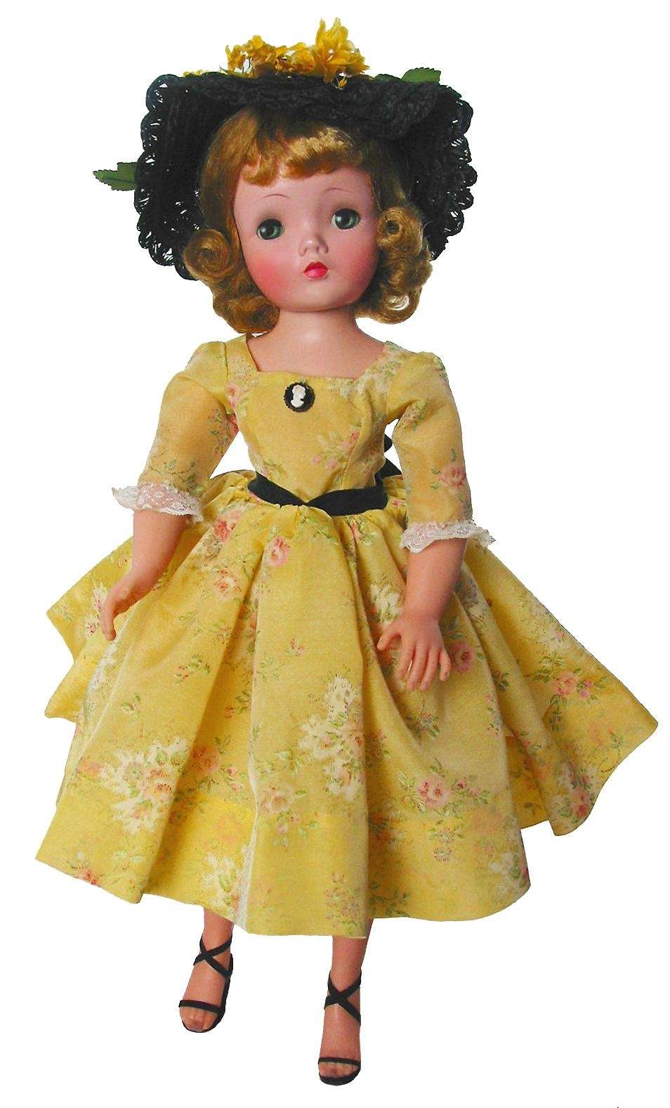 Madame Alexander dolls were the first to have