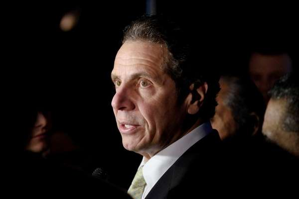 Gov. Andrew M. Cuomo said Monday in two
