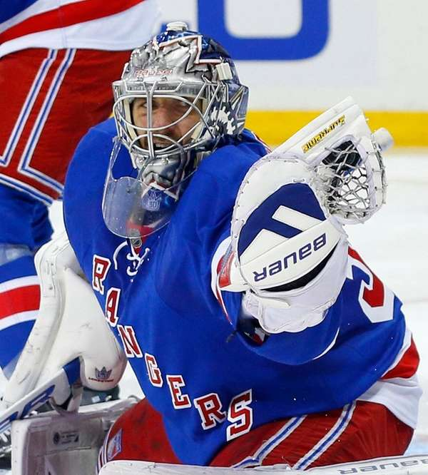 Henrik Lundqvist has allowed at least four goals