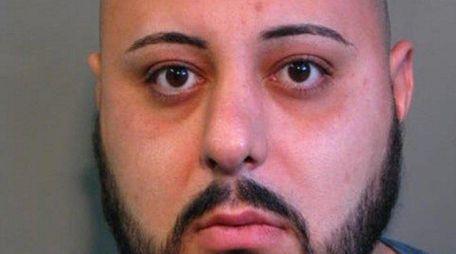 Nassau police arrested Shahin Sedgh, 30, a Westbury