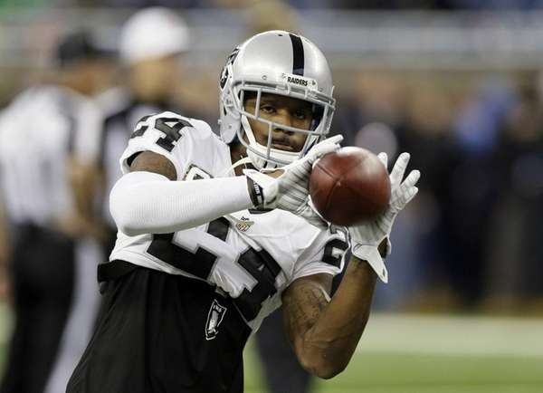 Oakland Raiders free safety Charles Woodson (24)