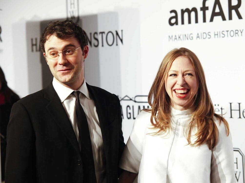 Parents: Chelsea Clinton and Marc Mezvinsky Children: Charlotte,