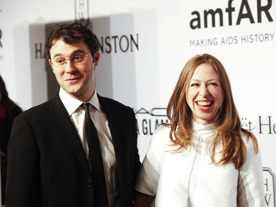 Parents: Chelsea Clinton and Marc Mezvinsky Children: Charlotte,