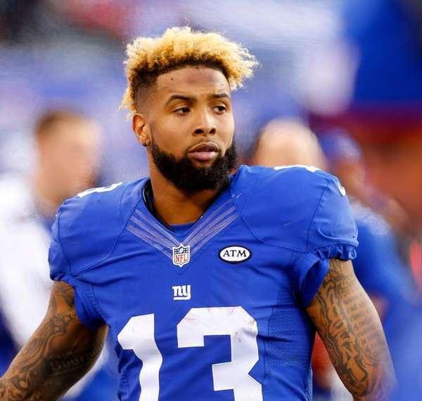 Odell Beckham #13 of the New York