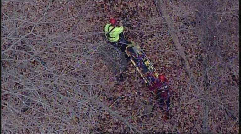 An injured hiker was rescued Monday Dec. 21,