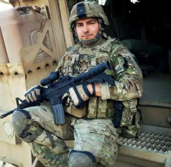 Air National Guard Staff Sgt. Louis Bonacasa was