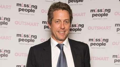 English actor Hugh Grant attends the