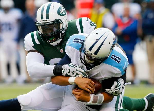 Muhammad Wilkerson, who has 12 sacks, got his