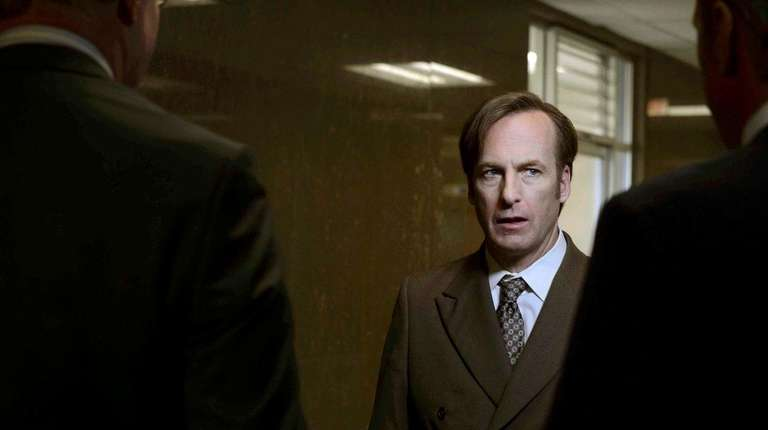Bob Odenkirk plays Jimmy McGill in