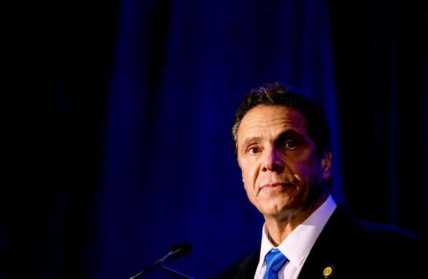 Gov. Andrew Cuomo speaks in Brooklyn on