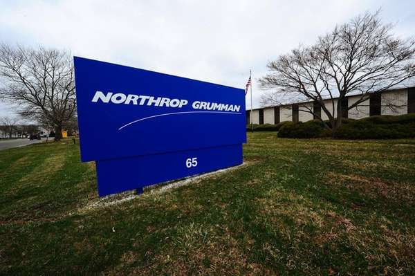 Northport Grumman's Melville facility is seen on