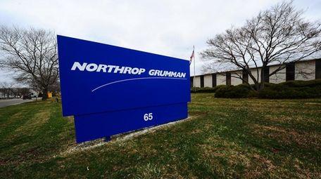 Northport Grumman's Melville facility is seen on