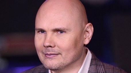 Billy Corgan of the band Smashing Pumpkins