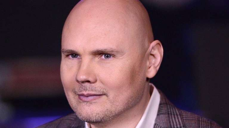 Billy Corgan of the band Smashing Pumpkins