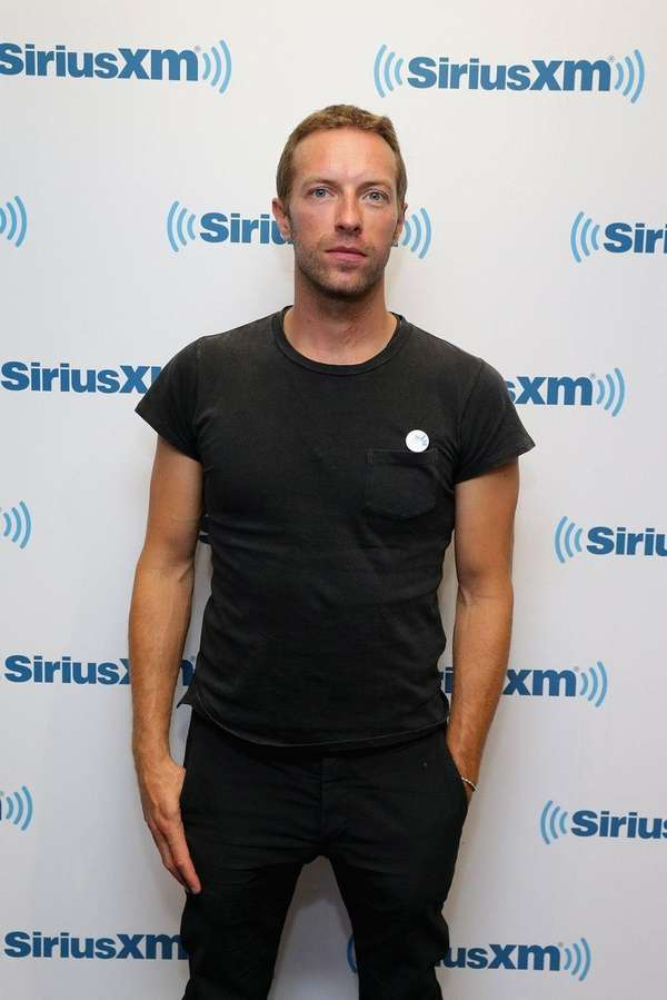Coldplay's Chris Martin attends the Artist Confidential Series