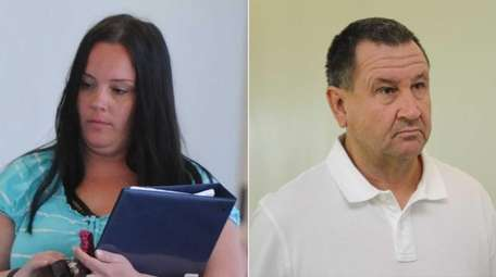 Erin McHenry, left, and Stephen Komara, appear at