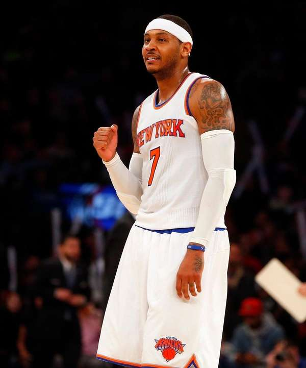 Carmelo Anthony participated in almost all of the
