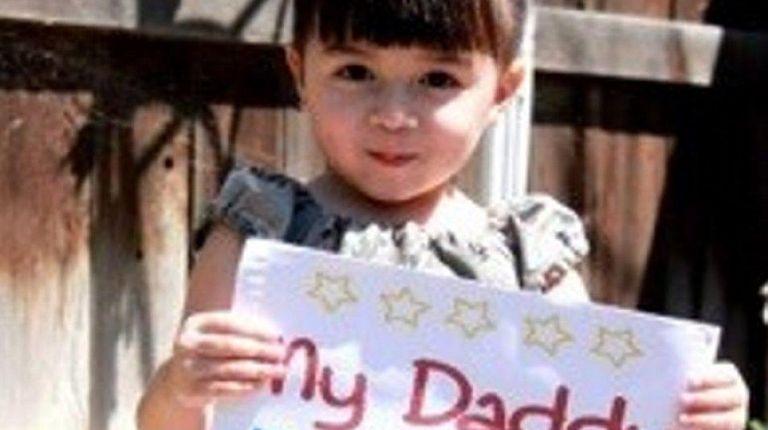 Lilianna Bonacasa, the daughter of Air National Guard