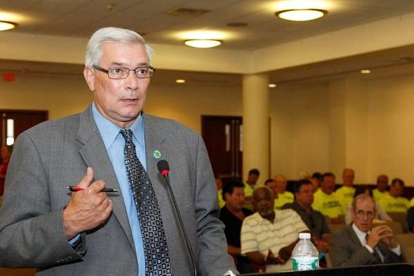 Jerry Laricchiuta the President of the CSEA (Civil