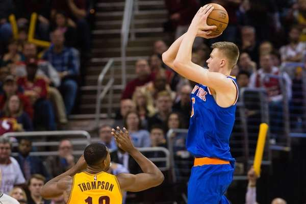 Kristaps Porzingis scored 23 points in the first