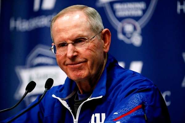 Giants coach Tom Coughlin is hoping for a