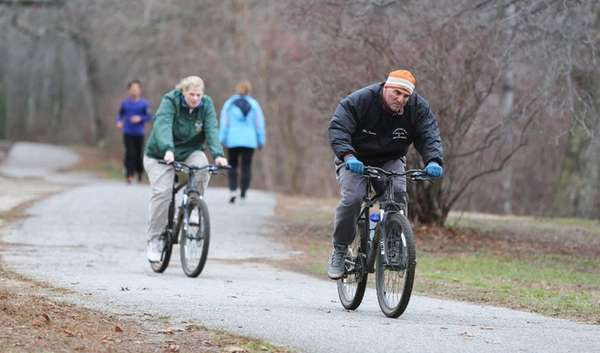 With temperatures still above average for December, cyclists,