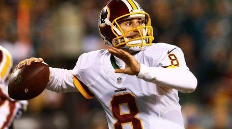 Quarterback Kirk Cousins #8 of the Washington Redskins