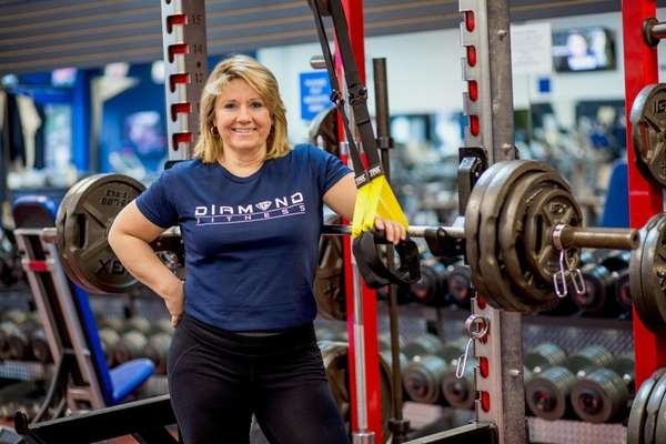 Wendy Goldstein, owner of Diamond Fitness in Oyster