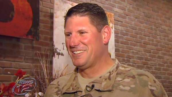 Staff Sgt. Joe Lemm, a member of the