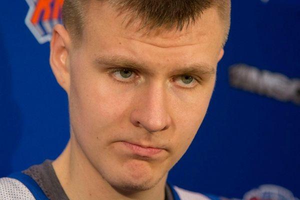 Knicks rookie sensation Kristaps Porzingis is very highly