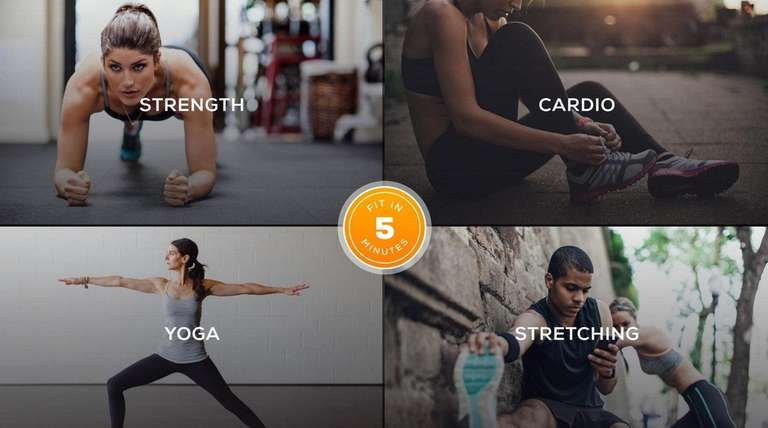 Sworkit -- Workout App for Daily Exercise and