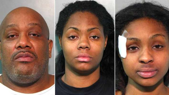 Here are four of six people arrested Sunday,