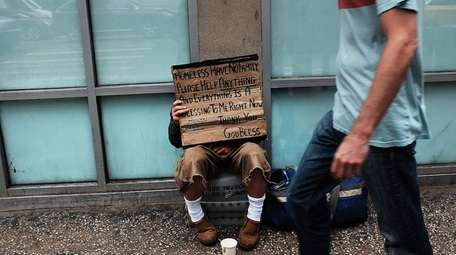Homelessness in NYC usually dominates the public discussion