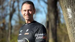 Dominick Oliviero, 50, a cancer survivor who ran