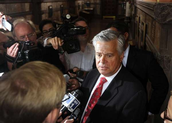 New York Senate Republican leader Dean Skelos (R-Rockville