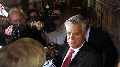 New York Senate Republican leader Dean Skelos (R-Rockville