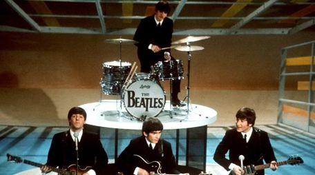 The Beatles perform on CBS'