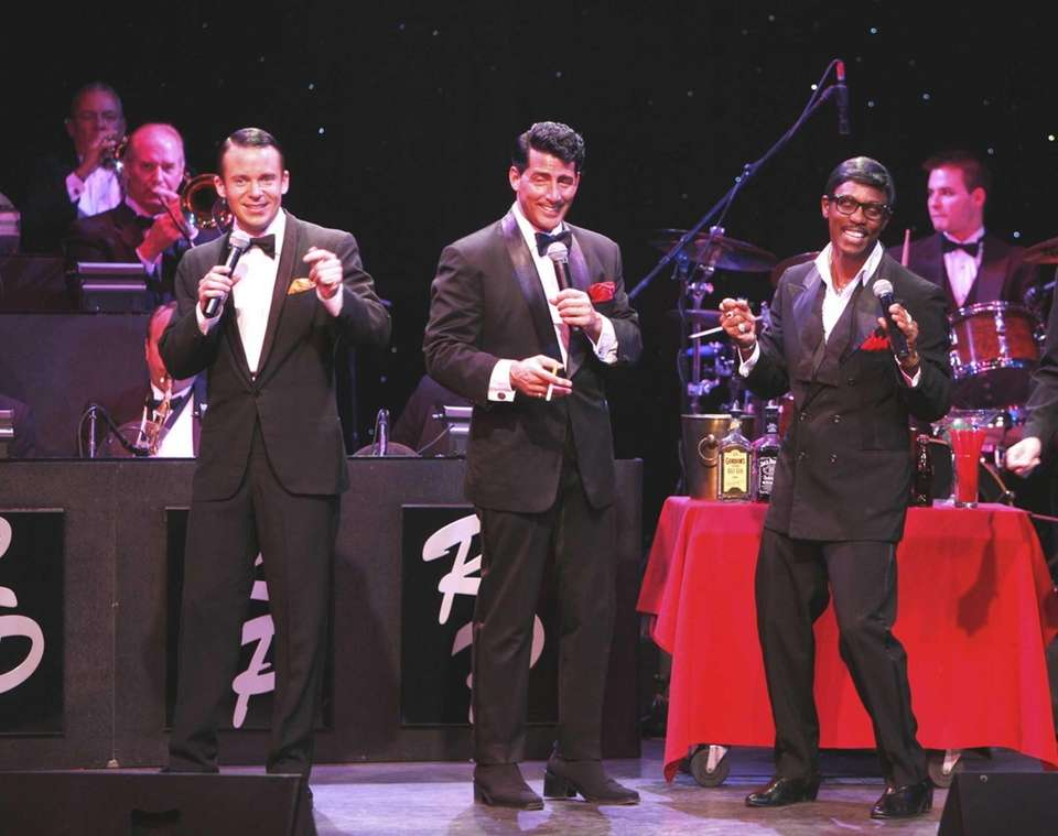 Ring in the 2016 with the Rat Pack.