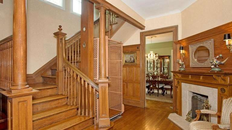 The recently renovated home has five bedrooms and