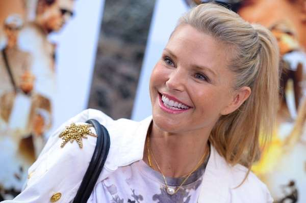 Model Christie Brinkley attends a special screening of