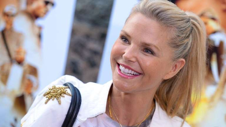 Christie Brinkleys Timeless Beauty Details Style Diet More