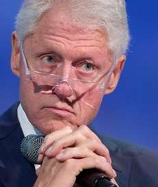 Former President Bill Clinton during an event