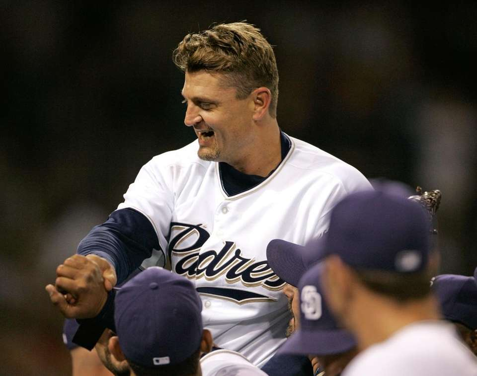 Trevor Hoffman ranks second all-time behind only Mariano