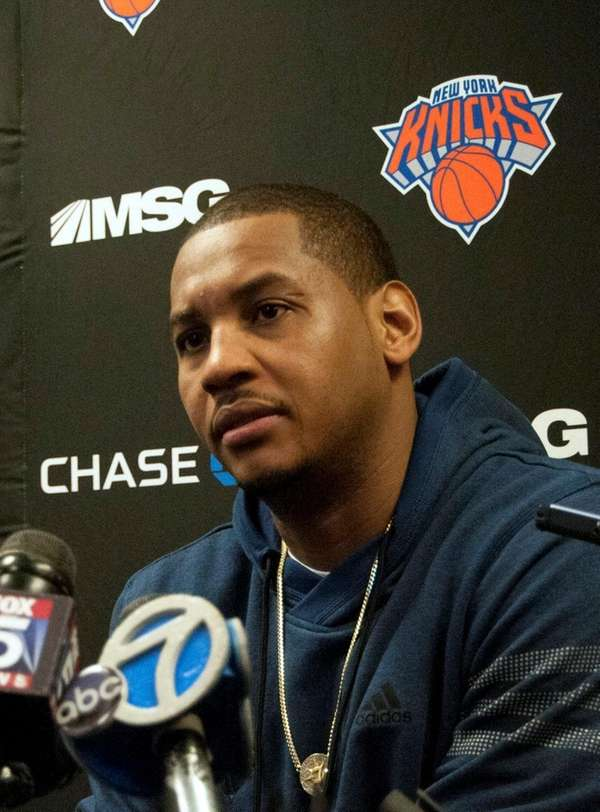 Carmelo Anthony speaks about teammate Cleanthony Early, who