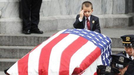 Ryan Lemm, 4, son of Joseph G. Lemm,