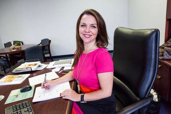 Kristen Jarnagin, new president of the Long Island